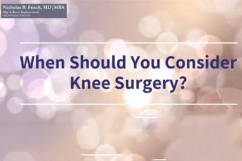 When Should You Consider Knee Surgery?