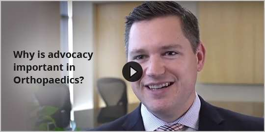 Why is advocacy important in Orthopaedics?